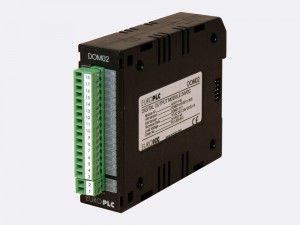 Digital output module BACnet PLC - M2.DOM.02 has 12 normally open relay outputs with LED indication of the state in the ouput circuit.
