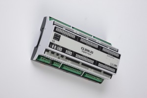 Digital input BACnet PLC - C2.DIN.33 can be used in remote fields IO in any Bacnet and/or Modbus network - Native Bacnet programmable device, 40 digital inputs