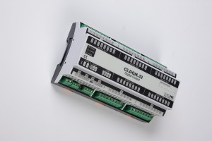 Digital input BACnet PLC - C2.DOM.33 can be used in remote fields IO in any Bacnet and/or Modbus network - Native Bacnet programmable device, 20 relay outputs