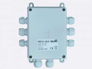 RBFU 1.10 LE Field Unit is used for controlling up to two Belimo 230 V fire damper actuators (BF230.., BLF230..). RBFU 1.10 LE Field Unit is connected to RingBus master controller via the 4 wire Ringbus communication