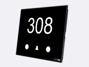 Smart Programmable Intelligent wall touch panel for Guest Room Management System, Smart Hotel Control, Home Automation and Building Automation - RD.CSA.01 - Customizable Intelligent card reader device designed for wide range of Building Automation and Guest Room Management System tasks
