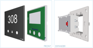 EUROICC Intelligent Programmable Room Wall panels - Corridor status