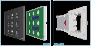 EUROICC Intelligent Programmable Room Wall panels - Key pad 9 keys