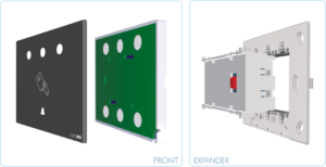 EUROICC Intelligent Programmable Room Wall-panels - RF card reader