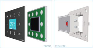 EUROICC Intelligent Programmable Room Wall panels - Remote Risplay Unit