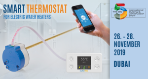 SMART WATER HEATER THERMOSTAT SOLUTIONS AT THE BIG5 SHOW 2019