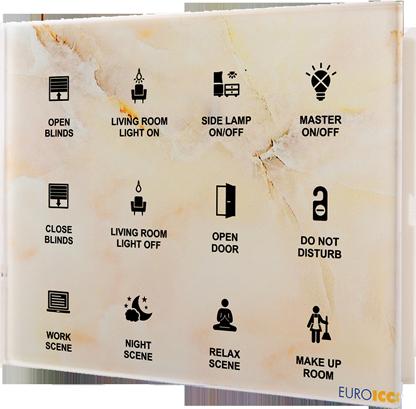 Guest Room Management System - Bedside Panel