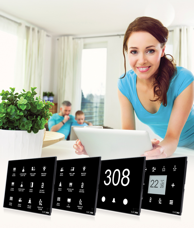 Guest Room Management System - Glass Panels